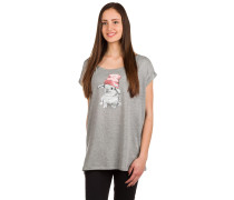 It Hasi T-Shirt grey mel.
