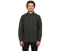 Holgate Yarn Dye Wool LS Hemd grau