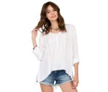 Sunset Path T-Shirt LS white
