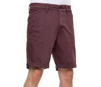 Flex Chino Shorts violett