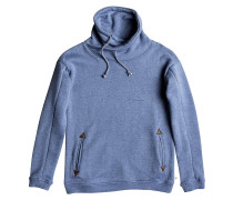 Waves Feeling Fleece Hoodie blau