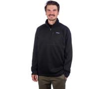 Better Sweater 1/4 Zip Fleece Pullover black