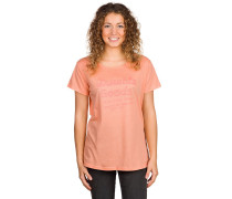 Durable Script T-Shirt orange
