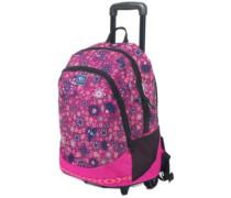 Mandala Wheely Proschool Backpack very berry