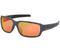 Obsess Acs Black Matt/Neon Orange Sonnenbrille