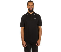 SB Dri Fit Pique Tipped Polo T-Shirt schwarz