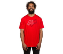 Riders Crew Tech T-Shirt flame red