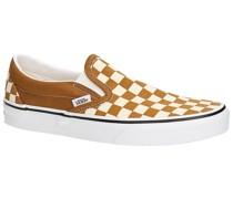 Checkerboard Classic Slip-Ons true white