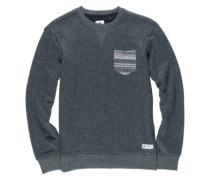Cleaven Crew Sweater black heather
