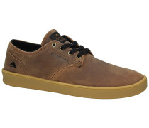 The Romero Laced Skate Shoes tan