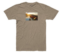Rays T-Shirt braun