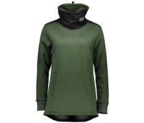 Merino Transition Pullover forest green