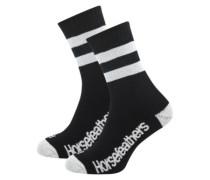 Brooks Socks 5-7 black