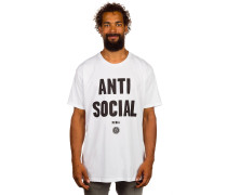 Anti-Social Media T-Shirt weiß