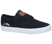 Riley Hawk Skate Shoes midnight suede