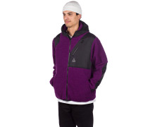 Aurora Tech Jacket purple velvet