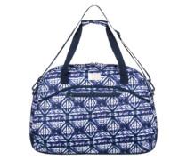 Too Far Bag dress blues geometric fee