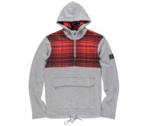 Reefton Qtr Zip Hoodie grey heather