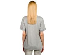 Euphoria Foil Rolled T-Shirt heather grey