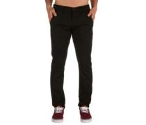 Flex Tapered Chino Pants black