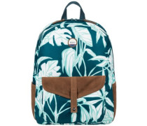 Carribean Backpack reflective pond java life