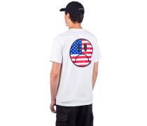 Bummer Usa T-Shirt white