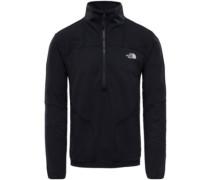 Purna Stretch 1/4 Zip Fleece Pullover tnf black