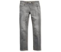 E1 Slim Jeans schwarz