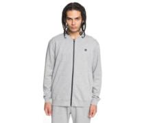 Glenties Zip Hoodie grey heather