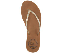 Leather Uptown Sandalen Frauen weiß