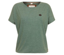 Acid Girl VII T-Shirt heritage pine green melan