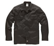 Work Slim Shirt LS black
