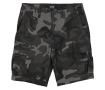 Scheme Cargo Camo Shorts