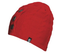 Timber Beanie fiery red