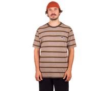 Hilt Multi Stripe T-Shirt heather grey