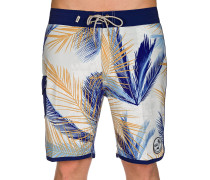 Mixed Scallop B Boardshorts blau
