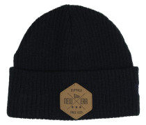 Fisherman Hex Beanie blau