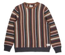 Vacation Stripe Knit Sweater espresso