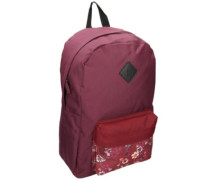 Chrissy Backpack blackberry new red floral