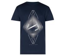 Elaborate T-Shirt blau
