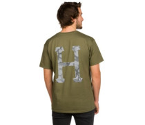 Street Ops Camo Classic H T-Shirt olive