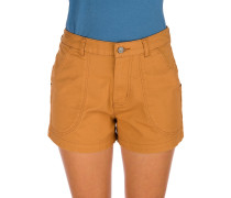 Stand Up Shorts umber brown