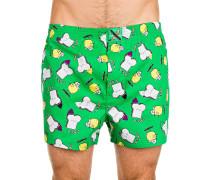 Skate Toast+Zitrone Boxershorts grün