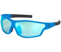 Leap Full Frame Blue Matt/Black Sonnenbrille blau