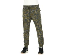 Reflex Rib Cargo Pants Long