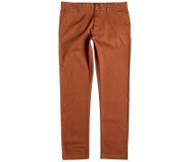 Worker Slim Chino 32 Hose orange