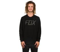 Brawled Tech Crew Fleece Sweater schwarz