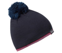 Retro Beanie dark steelblue