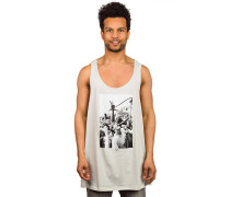 Crowd Hose Tank Top weiß