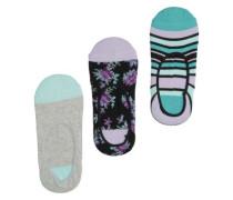 Talula No Show Socks multi